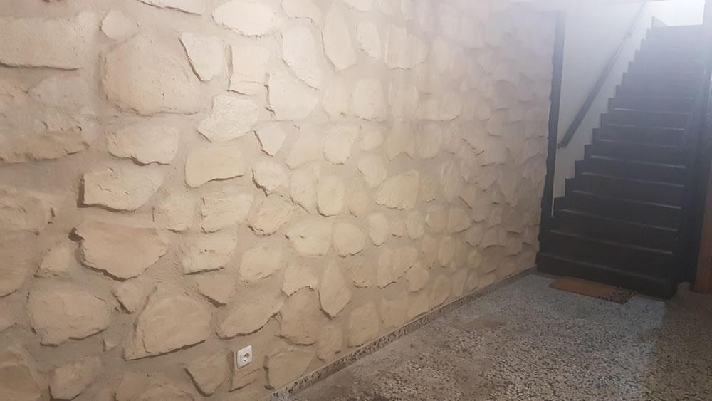 Imitaciones madera piedra hormigón